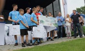 """Kolejne piłkarskie trofea dla """"Przystani"""""""