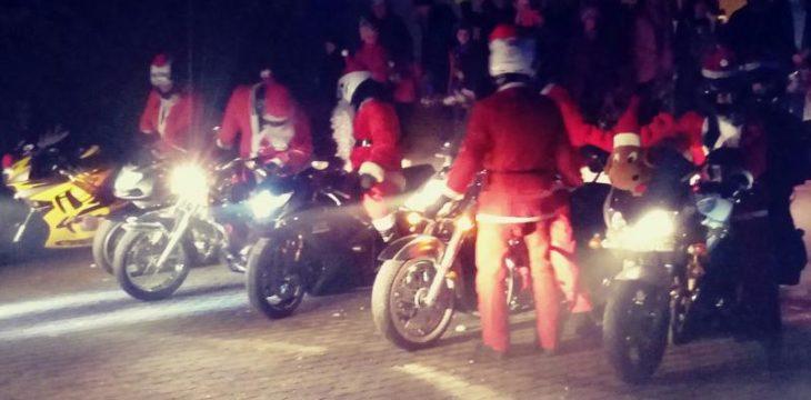 Mikołajki z FREE-Oświęcim motocykliści z pasją