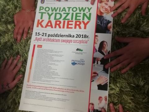 Ogólnopolski Tydzień Kariery w naszym centrum.